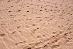 Fondo grande de la arena con las ondas Fotos de archivo