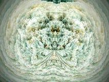 Fondo grande de los cristales de la nieve libre illustration