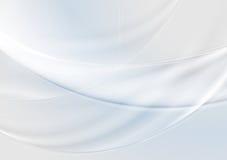 Fondo grigio astratto delle onde del blu e della perla Fotografie Stock
