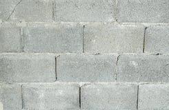 Fondo grigio bricky di Concret di cemento naturale Fotografie Stock Libere da Diritti