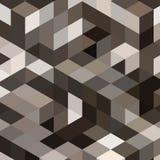 Fondo grigio con i cubi ed i quadrati - Vektorgrafik ENV 10 illustrazione di stock