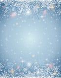 Fondo grigio con la struttura dei fiocchi di neve, vettore illustrazione vettoriale