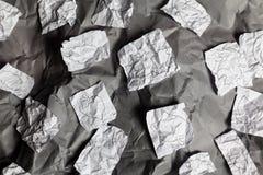 Fondo grigio con le foglie Fotografia Stock