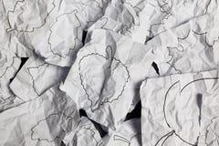 Fondo grigio con le foglie dense Fotografie Stock