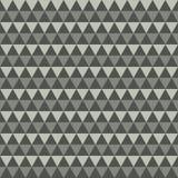 Fondo grigio dei triangoli Immagine Stock