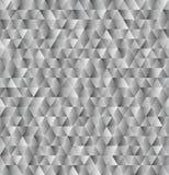 Fondo grigio del triangolo di vettore, modello senza cuciture illustrazione vettoriale