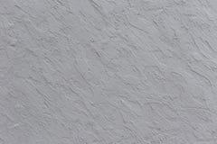 Fondo grigio della parete dell'argilla Immagine Stock