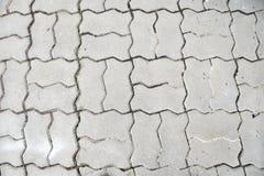 Fondo grigio della pavimentazione Fotografia Stock