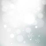 Fondo grigio di inverno royalty illustrazione gratis