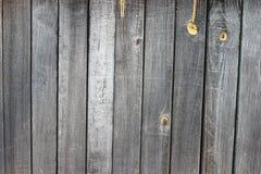 Fondo grigio di struttura della vecchia plancia di legno Immagini Stock