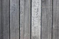Fondo grigio di struttura della vecchia plancia di legno Fotografie Stock Libere da Diritti