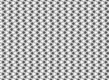 Fondo grigio e bianco del modello astratto di esagono della decorazione Vettore eps10 dell'illustrazione illustrazione di stock