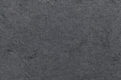 Fondo grigio scuro dell'ardesia naturale Primo piano di pietra nero di struttura Fotografia Stock Libera da Diritti