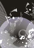 Fondo gris abstracto Fotografía de archivo