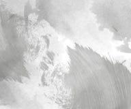 Fondo gris abstracto de la acuarela Foto de archivo libre de regalías