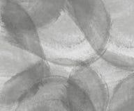 Fondo gris abstracto de la acuarela Fotografía de archivo