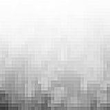 Fondo gris abstracto del pixel Fotos de archivo