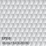 Fondo gris abstracto del triángulo Imagenes de archivo