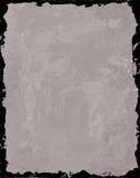 Fondo gris con el marco negro Imagen de archivo libre de regalías