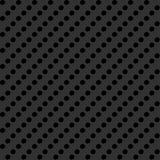 Fondo gris con la perforación ilustración del vector