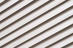 Fondo gris de la diagonal de la persiana Fotos de archivo