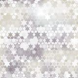 Fondo gris de la estrella Fotografía de archivo libre de regalías