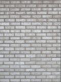 Fondo gris de la pared de ladrillo Fotografía de archivo