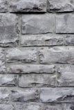 Fondo gris de la pared de ladrillo Imagenes de archivo