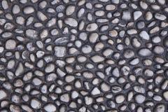 Fondo gris de la piedra del guijarro Imagenes de archivo