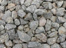 Fondo gris de la textura de la roca volcánica Fotos de archivo