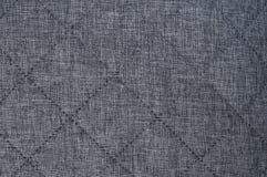 Fondo gris de la textura de la tela Fotos de archivo libres de regalías