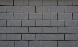 Fondo gris de la textura del bloque del ladrillo Imagen de archivo