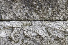 Fondo gris de la textura del muro de cemento Superficie de piedra apenada Plantilla elegante lamentable del diseño imagen de archivo libre de regalías