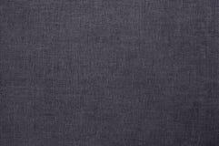 Fondo gris de la textura de la tela de algodón, modelo inconsútil de la materia textil natural imágenes de archivo libres de regalías