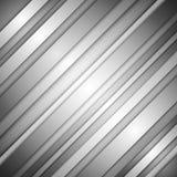 Fondo gris del extracto del vector del negocio con las líneas y la sombra Imágenes de archivo libres de regalías