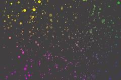 Fondo gris del parpadeo del confeti libre illustration