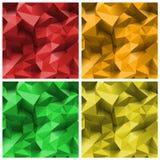 Fondo gris del triángulo Foto de archivo