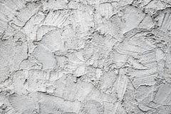 Fondo gris densamente enyesado de la pared del cemento Imagen de archivo libre de regalías