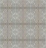 Fondo gris inconsútil de la textura del pavimento de la teja del cemento fotos de archivo