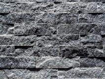 Fondo gris moderno de la textura de la pared de ladrillo fotografía de archivo libre de regalías
