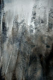Fondo gris oscuro de la textura áspera de la pintura fotografía de archivo