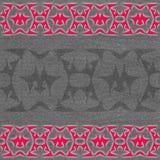 Fondo gris rojo ilustración del vector