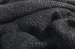 Fondo gris suave de tela de algodón para los diseñadores de moda Fotos de archivo libres de regalías