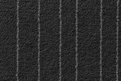 Fondo gris texturizado de la tela con las líneas blancas para el sitio web o los dispositivos móviles Foto de archivo libre de regalías
