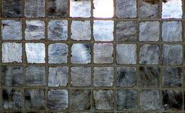 Fondo gris y de plata de la baldosa cerámica Imagenes de archivo