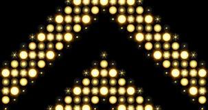 Fondo grueso de las luces LED del modelo de la flecha que se mueve hacia arriba libre illustration