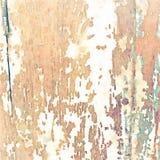 Fondo grungy molle dell'acquerello con struttura di legno del grano illustrazione vettoriale