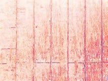 Fondo grungy molle dell'acquerello con struttura di legno del grano fotografia stock