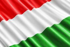 Fondo húngaro de la bandera, 3D libre illustration