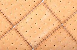 Fondo hecho de galletas Imágenes de archivo libres de regalías